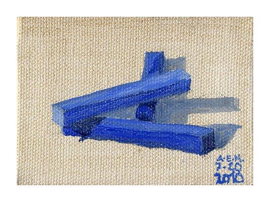 Blue Blocks by Amy-Elyse Neer