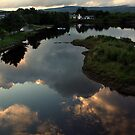 Ballydehob reflections by Esther  Moliné