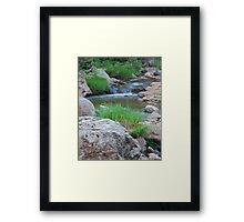 Evening on the Williams Framed Print