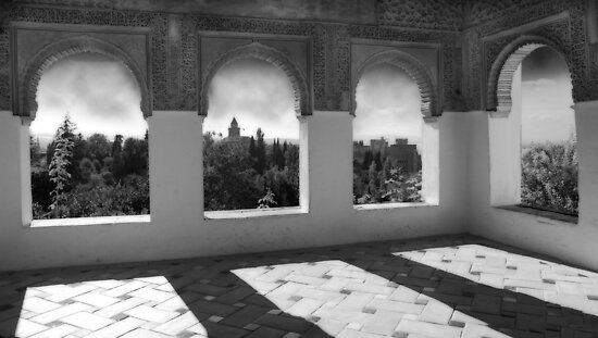 Alhambra Palace by Laurent Hunziker