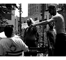 Angry in the Park Photographic Print