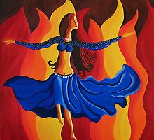 Dance of passion by Samina Jose Islam