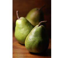 Pears Photographic Print