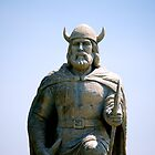 Viking Statue...in Gimli, Manitoba, Canada by Carol Clifford
