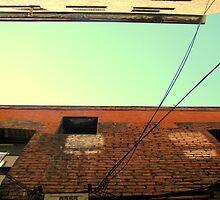 Fan Tan Alley - Bruised Buildings by kikiji