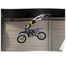 Brad Burch | ShowTime FMX Yamaha Freestyle Team Rider | MotorEx Show Sydney Poster