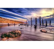 Sensational Seaside Scene Photographic Print