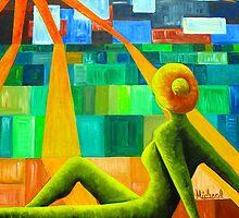 Sun Worshipper by Michael Arnold