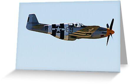P51B Mustang by Barry Hobbs