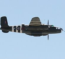 B25 Mitchell Bomber by Barry Hobbs