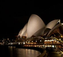Sydney Opera House by night by Andrea Rapisarda