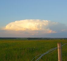 Thunderhead over Retreat Hill by Barrie Daniels
