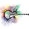 Smoke Guitar Design New by dangerpowers123