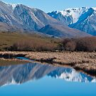 Reflections in a Mountain Lake by johngs