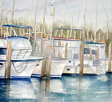 Dinner key Marina by Rosie Brown