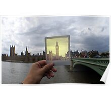 Polaroid Big Ben Poster