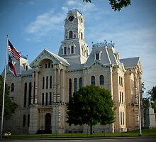 Courthouse in Hill County by Pilot Graphics Photography