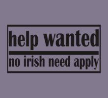 no irish need apply by ryan  munson