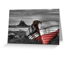 The Boat & The Castle Greeting Card
