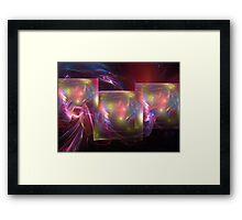 Light shields Framed Print