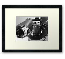 Double exposure Framed Print
