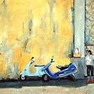 Waiting for a lift by Carole Russell