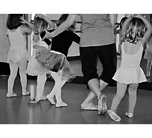 The Ballet Class Photographic Print
