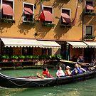Venice boat ride by Tom Gomez