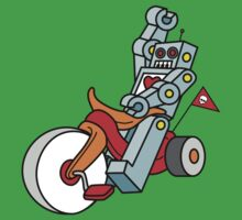 hot wheeling robot love Kids Clothes
