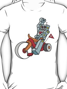 hot wheeling robot love T-Shirt
