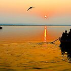Sunrise in Varanasi by Mukesh Srivastava