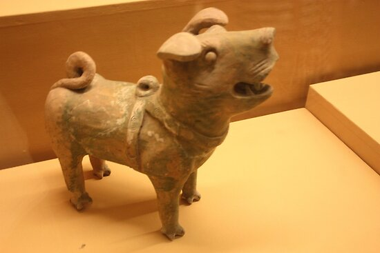 Barking Dog - Xi'an History Museum by xuyichi