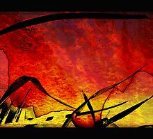 dusk picnic by vampvamp