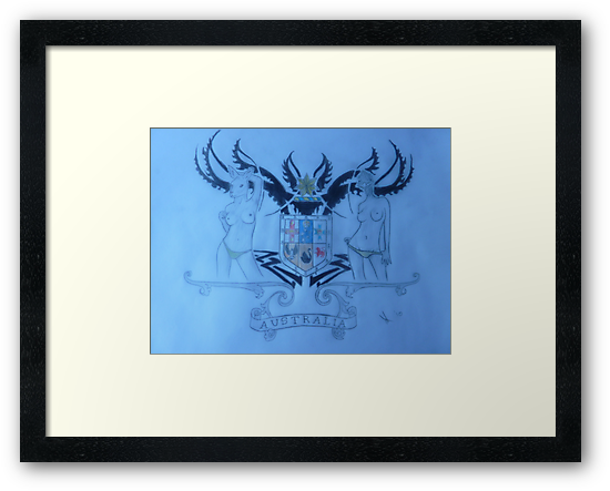 Rendition of th Australian Coat of Arms by DanielJamess