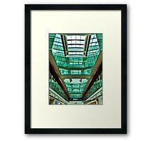 The Green Rooms - Dubai International Airport Framed Print