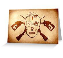 Doom Skull, Beware! Greeting Card
