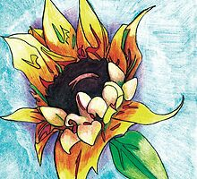 Sunflower by Loretta Nash