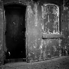 dirty doorway by Jenny Ryan