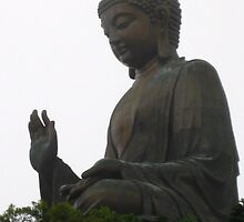 The Big Buddha Hong Kong by helenahlg