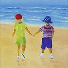 Walk on the Beach by Rodney Campbell