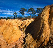 Pink Cliffs 3 - Heathcote by Hans Kawitzki
