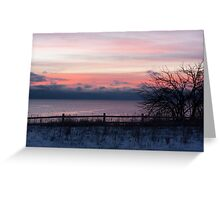 7:30 Sunrise Greeting Card
