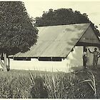 First Chapel at the Northern Ghana Bible Institute (1958) by Baba John Goodwin