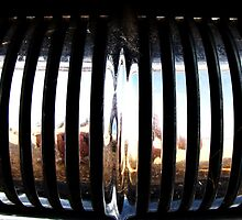 Dusty Ol' Pontiac Grill by trueblvr