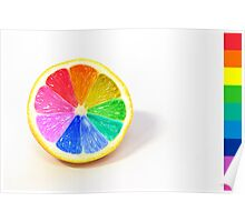 Pantone Colour Wheel Poster