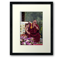 His Holiness the Dalai Lama - Washington D.C.  A.D.  2000 Framed Print