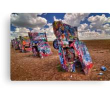 The Cadillac Ranch Canvas Print