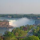 Niagara Falls, Canada : Lake Erie flowing to Lake Ontario by AnnDixon