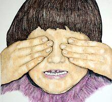 Study of Kayla-See No Evil by eruthart