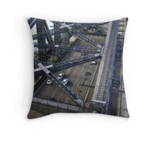 Above The Coathanger Throw Pillow
